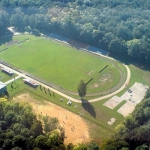 Стадион Химик. Вид сверху